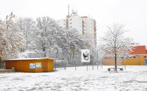 Schulgelände-Winter is coming- Edition